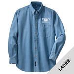 LSP10 - W230-S9.0-2014 - Emb - Ladies Denim Shirt