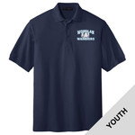 Y500 - W230-S9.0-2014 - Emb - Youth Pique Polo